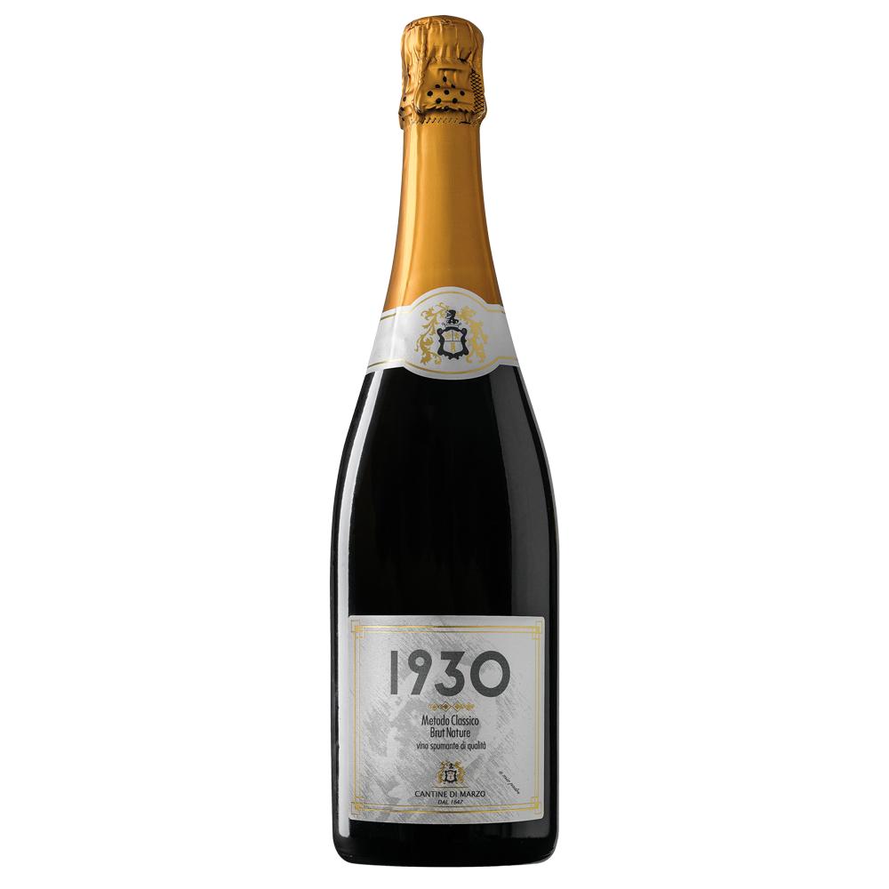 bottiglia di spumante 1930, Greco di Tufo Spumante Metodo Classico Brut Nature